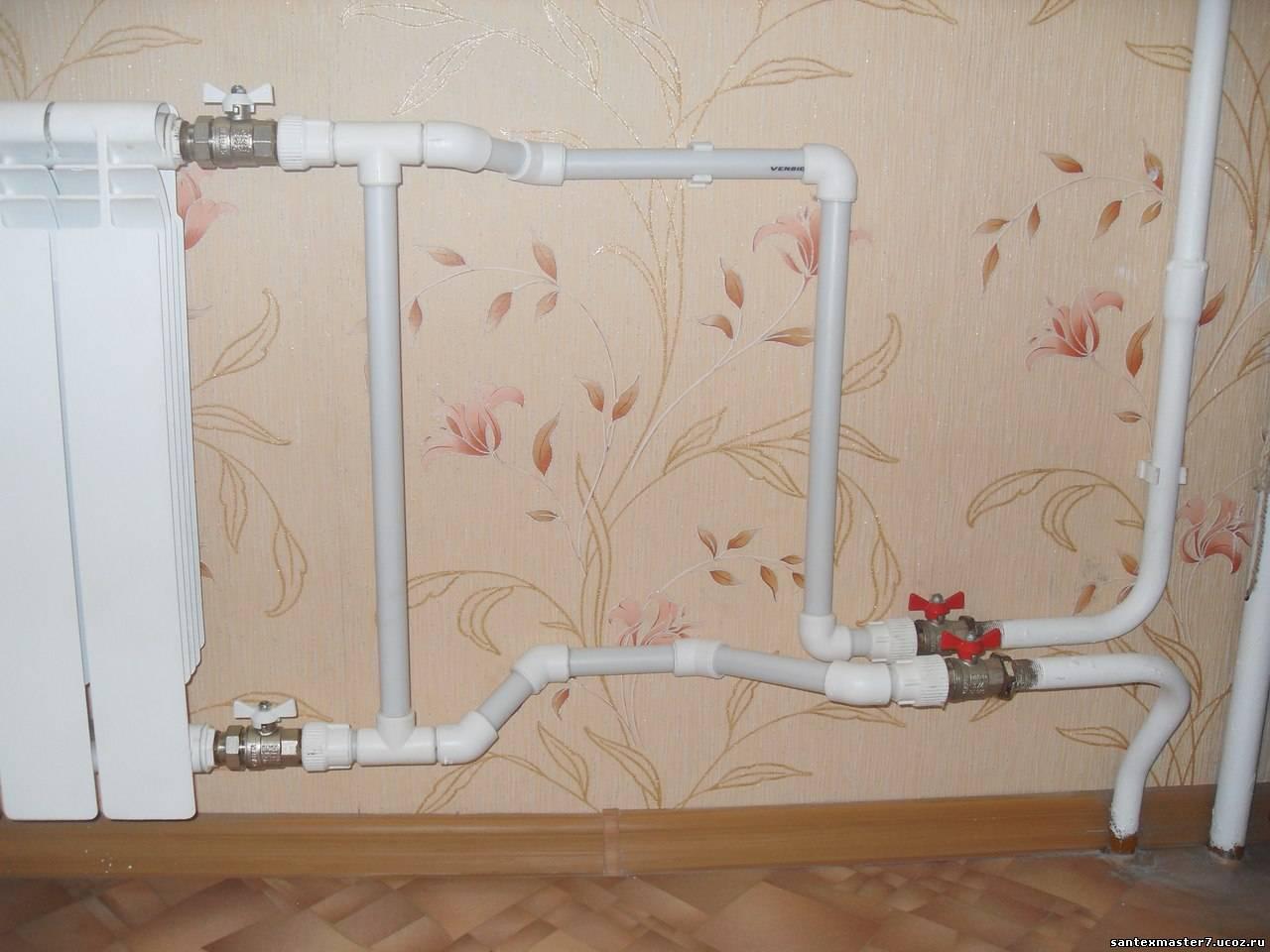Замена радиаторов отопления в квартире своими руками 2